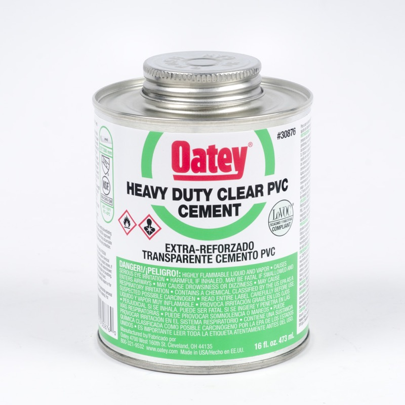 OATEY PVC HEAVY DUTY CLEAR